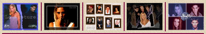 800x600 : n°109 (Buffy & Angel) ; 110 (SMG) ; 111 (Buffy Cast) ; 112 (Buffy, Angel, Spike & Riley) ;  113 (Buffy Cast)